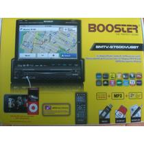 Dvd Player Retratil Booster Bmtv-9750dvusbt Tela 7 Touch