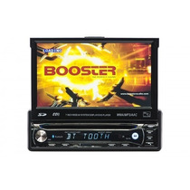 Dvd Player Automotivo Booster 9950 Retratil 7 C/ Tv Digital