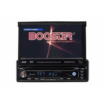 Dvd Booster Bmtv-9680dvusbt Novo 1 Din Retratil Gps A4534