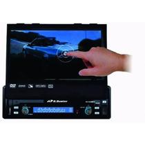 Dvd Retrátil Universal Buster Bluetooth Tv Touch 7 Sd Usb