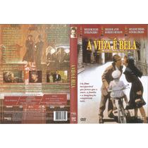 Dvd A Vida É Bela - Raro Cult - Roberto Benigni - 3 Oscar