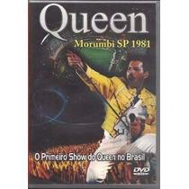 Dvd Queen - Ao Vivo Morumbi Sp 1981 (original E Lacrado)