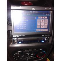 Dvd H-buster Automotivo Retrátil 7 Lcd Touch Hbd9500