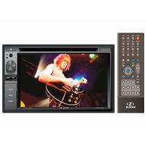 Dvd Player 2 Din 6,2 Pol H-buster Hbd-d268av C/ Sd Usb Aux
