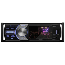 Toca Cd Dvd Jvc Kd-av300 3 Usb Iphone Ipod Radio P/ Modulo