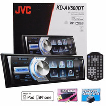 Dvd/cd/usb Player C/ Tv Digital 3 Pol. Flipdown Jvc Kd-av500