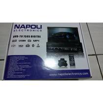Dvd Player Retratil Napoli 7595,1 Din,dvd/cd/bth,tv Digital