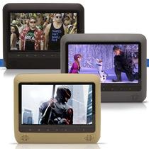 Dvd Player Pra Carro Tela Encosto Cabeça 9 Lcd Com Game Usb
