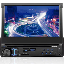 Dvd Player Multilaser Retratil P3295 Blade Usb Sd Card Aux