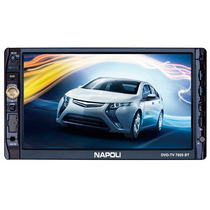 Dvd Automotivo Destacável Napoli 7920 7 Pol Touchscreen Tv