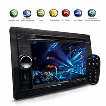 Dvd Player 2din Tv Digital Bluetooth Usb Gps Integrado 6.2´´