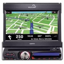 Dvd Player Multimídia Multilaser Explorer P3156 Gps-tv-usb