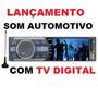 Tv Digital -som Automotivo Naveg / Tela Lcd 3 ,am/fm,usb,aux