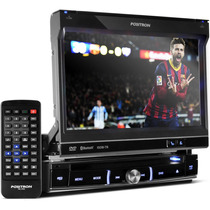 Toca Cd Dvd Positron Tela 7 Tv Digital Bluetooth Touchscreen