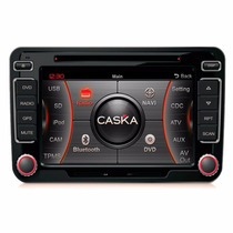 Kit Central Multimidia Tv Dvd Gps Caska Ca069 Jetta Tiguan