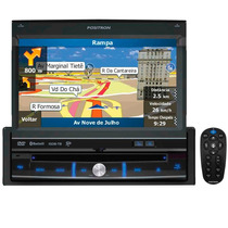 Dvd Automotivo Pósitron Sp6900 Nav Gps Tela Retrátil Touch