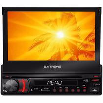 Dvd Player Retratil Multilaser Extreme Gp042 Gps Tv Usb Sd