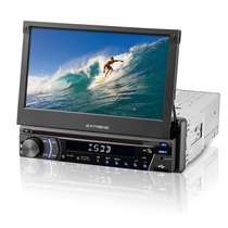 Dvd Player Multilaser P3296 Tela 7 Retratil Touch Tv Gps