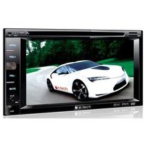 Dvd Para Carro Central Multimidia 2 Din Tv Bluethooth Usb Sd