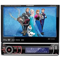 Dvd Player Audioart Ar-700dv Tela 7 Polegadas Retratil Touch