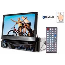 Dvd Automotivo Retratil 7 Polegadas Tv Analogica Bluetooth