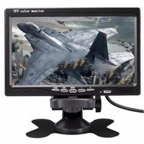 Tela Monitor Veicular Digital 7 Polegadas Lcd Portátil