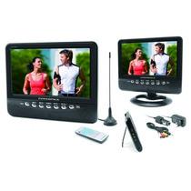 Tv E Tela Lcd 9 Polegadas Powerpack Avtv 940 Usb Sd Av