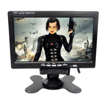 Monitor Tft Tv Digital Tela Lcd Portátil 7 Controle Suporte