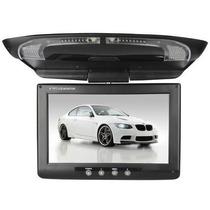 Monitor Tela Dvd Automotivo De Teto Lcd 7 Frete Grátis