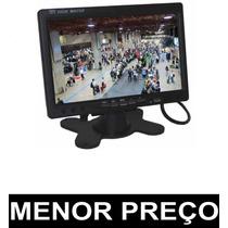 Monitor Lcd 7 Colorido Widescreen - Cftv - Automotivo