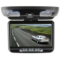 Tela Teto Monitor 9´ Lcd C/ Dvd Player Sd/card, Usb Port