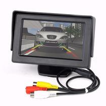 Tela Monitor Veicular 4.3 Vídeo Lcd P/ Camera Ré Dvd Col E75