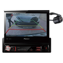 Dvd Pioneer Automotivo Retrátil 7 Pol Usb Carro + Camera Ré