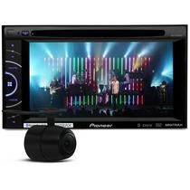 Toca Cd Dvd Pioneer 2 Din Tela 6 + Camera De Ré + Controle