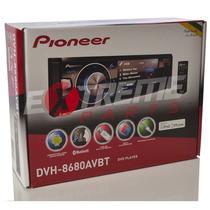 Dvd Player Pioneer Dvh-8680 Avbt Bluetooth Usb Tela 3,5