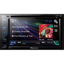 Dvd Pioneer Avh-x2780bt Avh2780 2780bt 2 Din Android Iphone