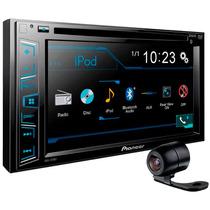 Dvd Player Pioneer Avh-278bt Bluetooth Tela 6.1 Usb + Camera