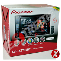 Dvd Pioneer Avh-x2780bt + Moldura 2din Civic + Interface