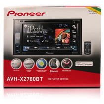 Dvd Player Pioneer Avh-x2780bt Bluetooth, Mixtrax,usb, 2 Din