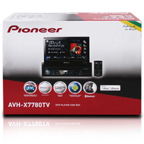 Dvd Pioneer Retratil Avh-x7780tv Tv Digital App Radio Usb