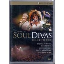 Dvd Soul Divas - The Best Of In Concert (lacrado)