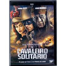 Dvd O Cavaleiro Solitário - Johnny Depp - Novo***