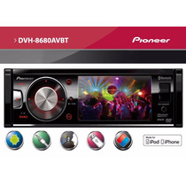 Dvd Player Pioneer Dvh-8680avbt Usb Tela 3,5