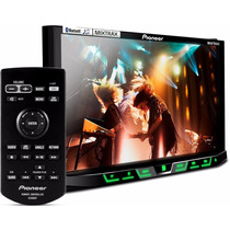 Dvd Player Pioneer 7 Polegadas 2 Din Tv Digital Bluetooth