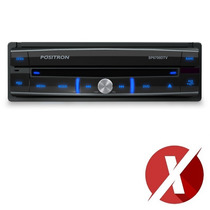 Dvd Player Positron Lcd 7 Sp6700dtv Tv Digital Mp3 Retratil