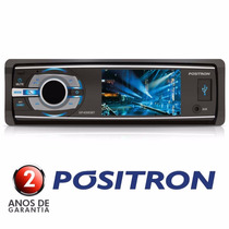 Dvd Positron 3 Sp4330bt Bluetooth Mp3 Usb Viva Voz Micro Sd