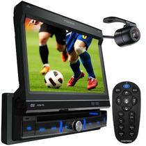 Dvd Positron Retrátil 7 Sp6700dtv + Tv Digital + Cam. De Ré