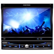 Super Dvd Pósitron Automotivo Tela Lcd 7 Retrátil Usb Sd Mp3