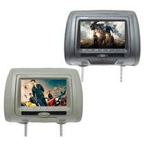 Encosto De Cabeça Com Leitor De Dvd Sony Sd/usb Games