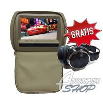 Automotive Shop Encosto Cabeça 7 Pol/ Leitor/ Usb/ Sd Jogos